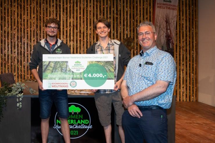 De winnaars: BN-Boys van Van Hall Larenstein