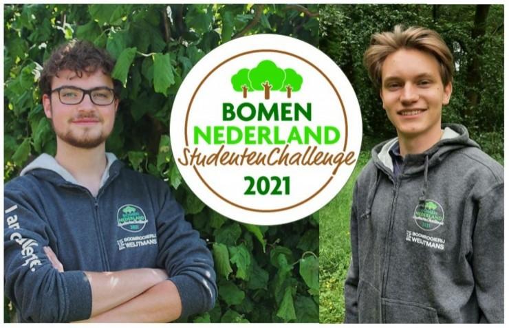 Challenge-winnaars nemen deel aan webinar Bossenstrategie